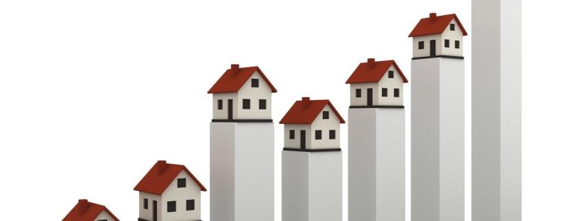 Preços dos imóveis disparam 7,6% no terceiro trimestre
